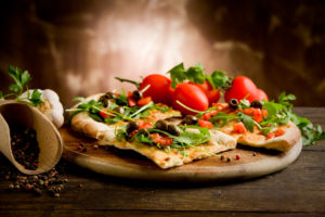 Vegetarische pizza bestellen in Akkrum bij La Copita pizzeria